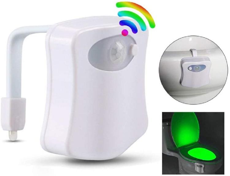 Lunartec LED toaletní světlo se senzorem pohybu